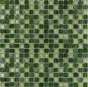 Crystal Vs Stone Mosaic Mixture Tile (M8CSPTY43)