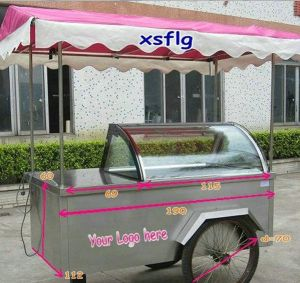 14 Pans Ice Cream Cart Foshan/Freezer Bicycle pictures & photos