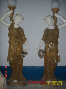 Polished Marble Ancient Greek Sculpture (XMJ-FG33)