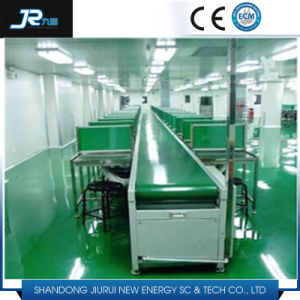 Industrial Ce Certificate Powered Rubber Belt Conveyor for Food pictures & photos
