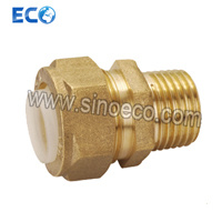 Brass Reduced Male Coupling Pipe Fittings for PPR pictures & photos