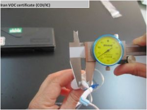 Medical Supplies-Infusion Set Iran Voc (COI/IC certificate) Inspection Service pictures & photos