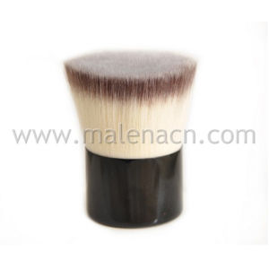 Flat Kabuki Makeup Brush with Synthetic Hair pictures & photos