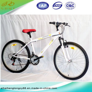 26′′ Steel Mountain Bicycle/Bike with 21 Speed (SH-MTB011) pictures & photos