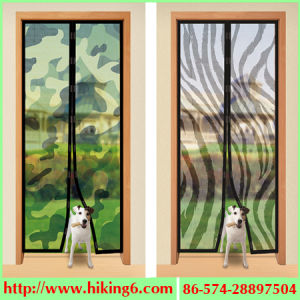 Household Magnetic Curtain Magic Mesh pictures & photos