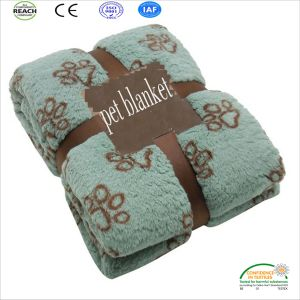 Warm Bed Mat Paw Print Cushion Soft Blankets Pet Cat Dog Blanket pictures & photos