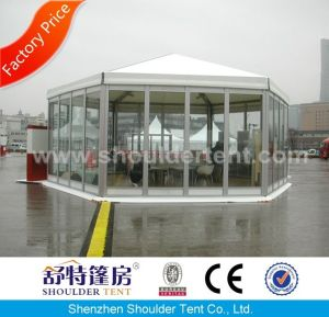 Newest Aluminum Hexagon Tent with Glass Wall pictures & photos
