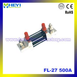 500A (FL-27) Resistor DC Current Shunt 75mv Drop Resistance pictures & photos