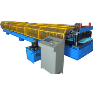 CE ISO Certificated Metal Roof Sheet Roll Forming Machine