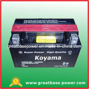 Lead Acid Motorcycle Battery Ytx7a-Bs (6ah 12V) pictures & photos