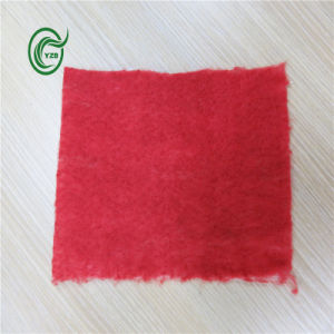 Pb2814 PP Fleeced Backing for Carpet with Red