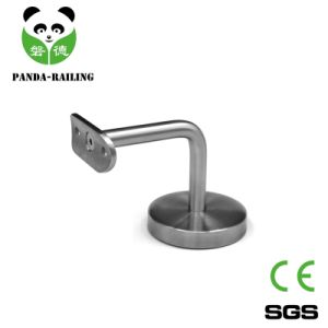 Stainless Steel Glass Railing Fitting / Inox Handrail Bracket with Carbon Steel Base pictures & photos