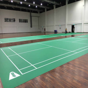 Hot-Sell Maunsell PVC Sports Flooring for Indoor Badminton Court pictures & photos