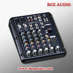Compact 6 Channel PRO Audio Mini USB Audio Mixer, DJ Mixer