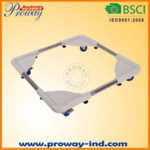 Universal Rolling Washing Machine Base Stand with Four Wheels pictures & photos