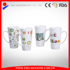 China Manufacturer Custom Logo White Porcelain Cups/Ceramic Mugs pictures & photos