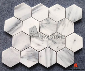 New Carrara White Marble Mosaic for Wall Decoration pictures & photos