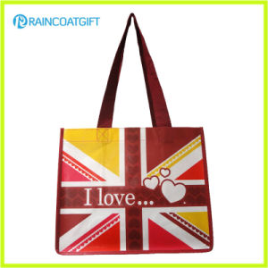 Promotion Recycle Laminated PP Non Woven Shopping Bag RGB-091 pictures & photos