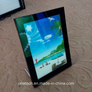 Desk Crystal Acrylic Frame Advertising LED Light Box pictures & photos