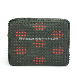 High Quality Guangzhou Wholesale Women Handbag Leather Cosmetic Bag pictures & photos