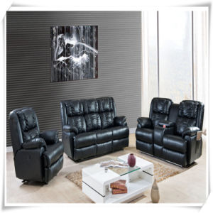 Home Furniture Sofa, PU Sofa, Recliner Leather Sofa (A-2643)