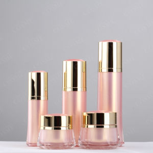 5ml 8ml 15ml 50ml Round Plastic Acrylic Cosmetic Bottle pictures & photos
