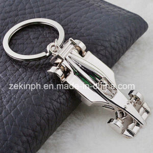 Custom Metal 3D Race Car Keyring pictures & photos