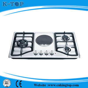 Stainless Steel Panel Propane Gas Stove, Gas Cooker with CE
