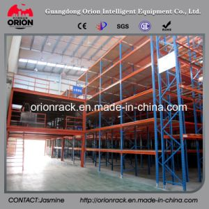 Light Duty Steel Structure Mezzanine Floor with The Display Shelf pictures & photos