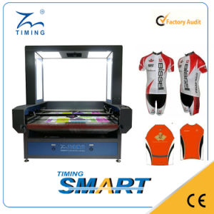 CO2 Laser Cutting Machine with CCD System for Printed Fabrics pictures & photos