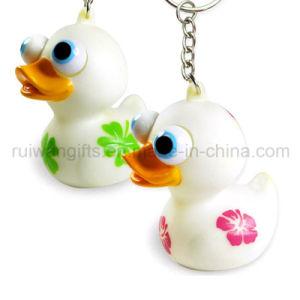 Duck Squeeze Pop Eye Keychain (EYT018) pictures & photos