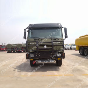 Military Truck China HOWO 20000L Fuel Tanker Truck Sinotruk 6X6 Oil Truck pictures & photos