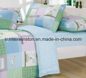 100% Polyester Printed Duvet Cover Set, Fitted Sheet, Pillow Case, Summer Winter Blanket for Children pictures & photos