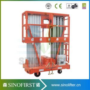 10m Mobile Push Around Aluminum Alloy Work Platform with Ce pictures & photos