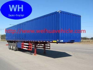 Cargo Semi Trailer, Van Box Trailer From China Supplier pictures & photos