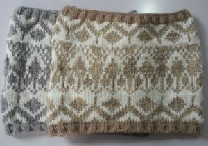 Winter Comfortable Warm Knit Scarf (FB-90522) pictures & photos