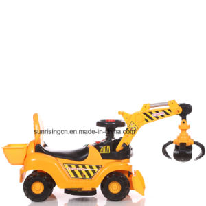 2017 Battery Powered Indoor & Outdoor Electric Miniature Toy Excavator pictures & photos