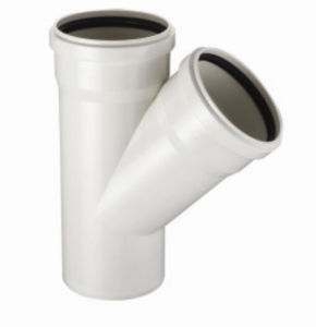 PVC-U Pipe &Fittings for Water Drainage Skew with Socket (C74) pictures & photos