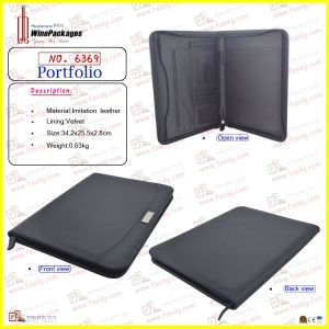 PU Leather Business Documents Bag (6369) pictures & photos