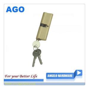 Brass Polished High Quality Door Cylinder (AG-C4)