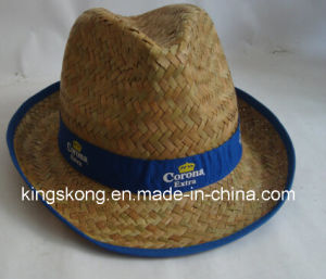 Promotion Gift Straw Cowboy Hat, Straw Hat, Sun Hat pictures & photos