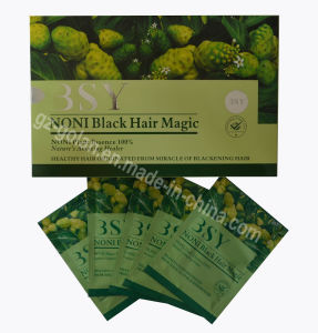 Go Perfect Noni Black Hair Magic Shampoo 20ml*20 (GL-HD0998) pictures & photos
