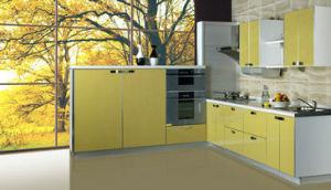 Ritz Kitchen Furniture Fresh Elegance Style with MDF Solid Wooden Kitchen pictures & photos