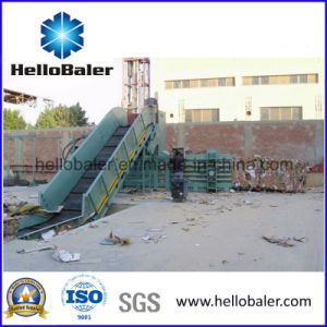 Small Capacity Horizontal Baling Machine for Waste Paper Hsa3-4 pictures & photos