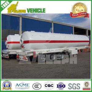 55cbm LNG Storage Tank with 3 Axle Semi Trailers Transportation