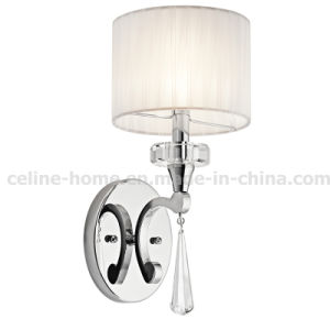 Iron Wall Lamp with Crystal Decoration (C017-1W) pictures & photos