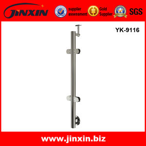 Stainless Steel Side Mount Glass Deck Railing (YK-9116)
