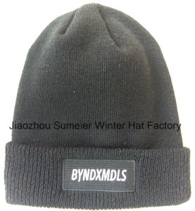Free Samples More Colors Mixed Woven Beanie Knitted Caps pictures & photos