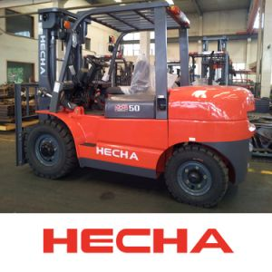 Diesel Forklift Truck 5 Ton China pictures & photos