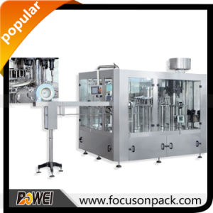 Automatic Linear Gas Drink Filling Machine pictures & photos